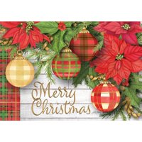Lang Companies Ornaments Petite Christmas Cards for Heart Warming Greetings - 2 Cards and 13 Envelopes - 5''x3.5''
