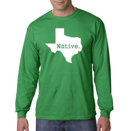 678 - Unisex Long-Sleeve T-Shirt Texas Native Exclusive State Collection Usa