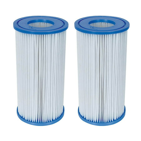 Coleman Type III A/C Swimming Pool Filter Pump Replacement Cartridge (2 Pack) ()