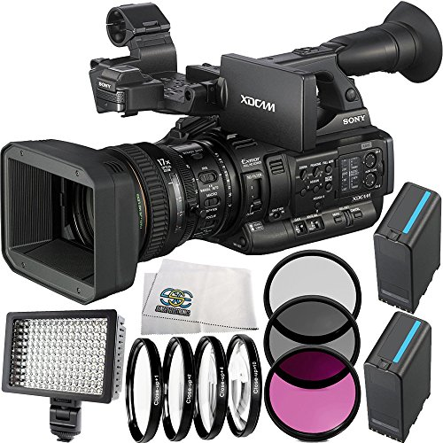Sony PXW-X200 XDCAM Handheld Camcorder 11PC Accessory Kit. Includes 2 Replacement BPU-90 Batteries + 3PC... by SSE