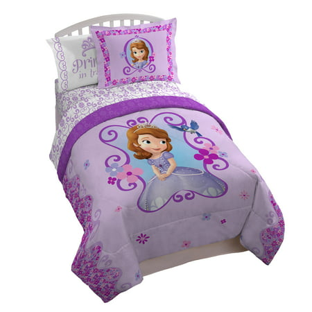 Disney Sofia The First Floral Scroll Twin/Full Comforter - Sofia The First Table Cloth
