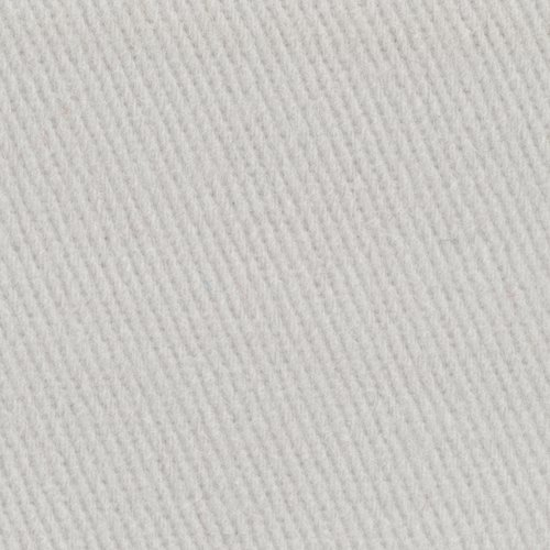 Sanded Twill Fabric, White