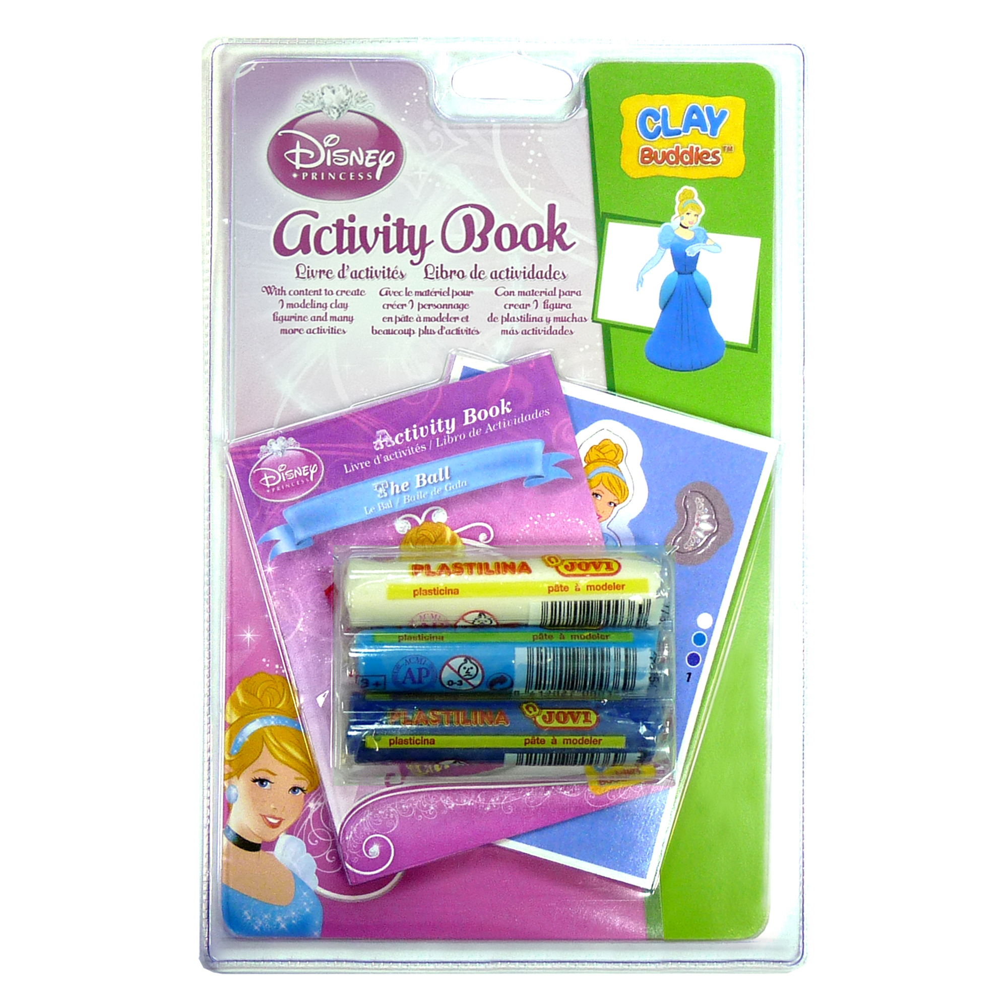 Disney Princess - Clay Buddies Blister Pack - Cinderella