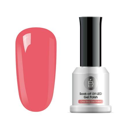 BABYPEACH One Step Gel Nail Polish UV LED Soak Off Gel Nail Manicure Art 15ml OS066](Halloween Nails Step By Step)