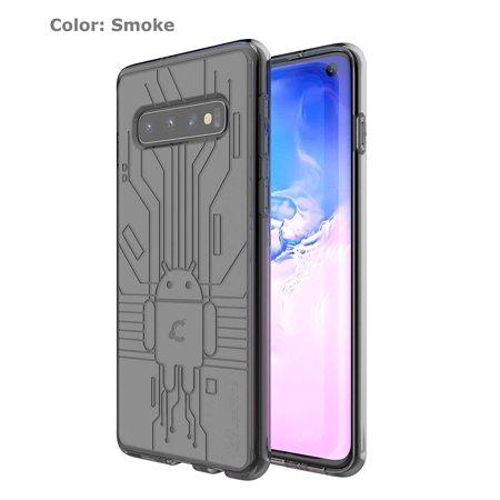 Smoke Cruzerlite Bugdroid Circuit TPU case for the Galaxy (Cruzerlite Bugdroid Circuit Case For Lg Nexus 5)