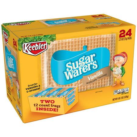 Keebler Sugar Wafers - 2.75 oz. - 24