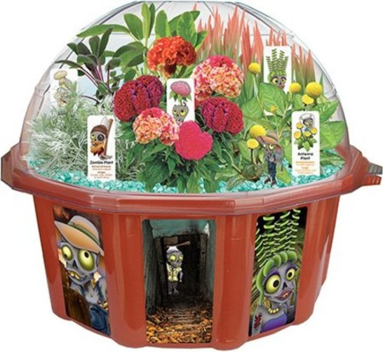Dunecraft Dome Terrarium Zombie Farm by Overstock