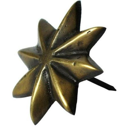 Gado Gado Hardware HCL1154 Eight - Point Star Clavo, - 8 Point Star