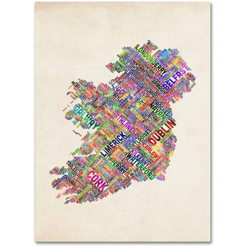 "Trademark Fine Art ""Ireland II"" Canvas Wall Art by Michael Tompsett"