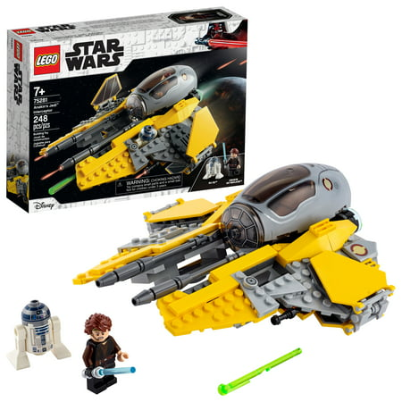 LEGO Star Wars: Revenge of the Sith Anakin's Jedi Interceptor 75281 Anakin Skywalker Building Toy (248 Pieces)