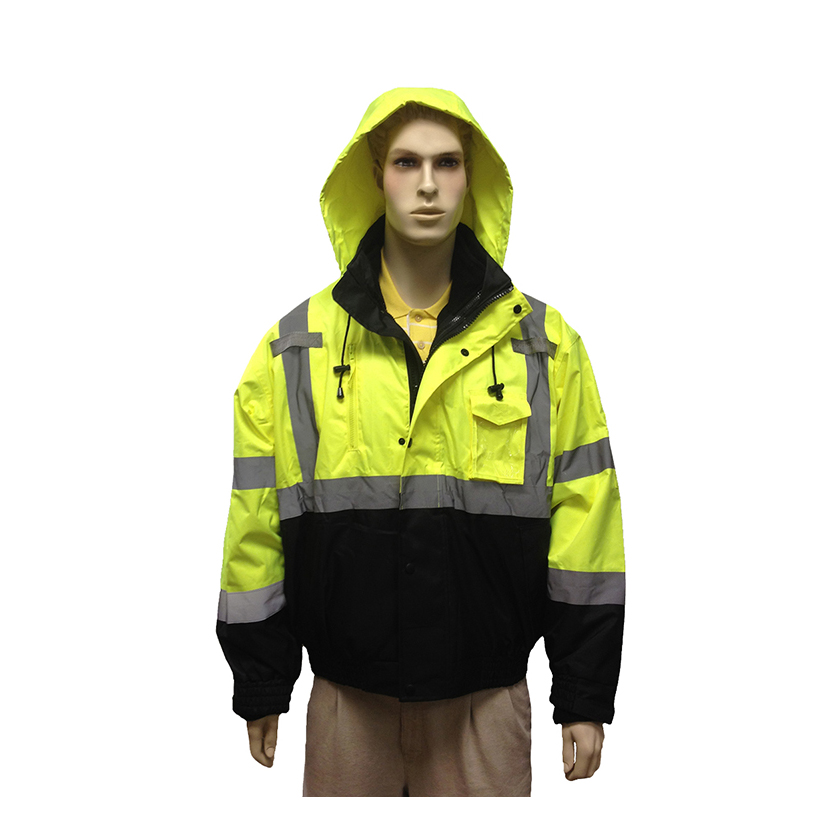 Class III Lime Green Safety Jacket Lot of 1 Pack(s) of 1 Unit