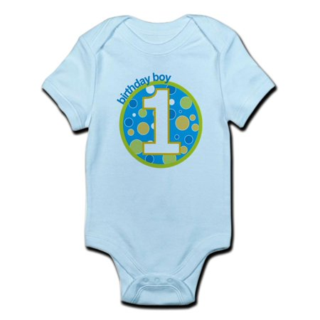 First Birthday Bodysuit (CafePress - First Birthday Boy T Shirts Infant Bodysuit - Baby Light Bodysuit )