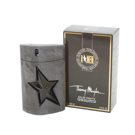 Angel Leather (Angel Men Pure Leather by Thierry Mugler 3.3 oz Eau de Toilette Spray Limited Edition )