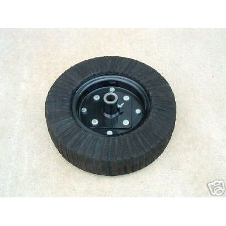 15 Inch Finish Mower Rotary Cutter Tail Wheel With Hub 15 Inch Rotary