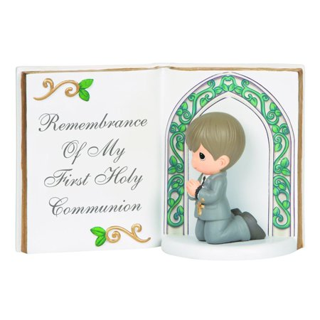 Precious Moments Remembrance Of My First Holy Communion Resin Figurine Boy 143405