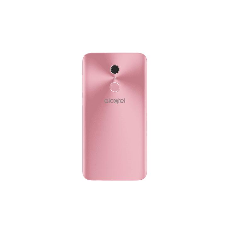 "Alcatel A3 Plus 5011A 5.5"" Quad-core 1.3GHz 16GB 1GB RAM Fingerprint Sensor 3G 13MP Android 7.0 Factory Unlocked (Rose Gold+ White)"