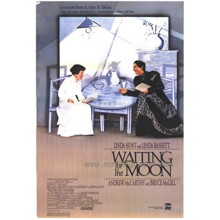 Waiting for the Moon POSTER Movie (27x40)](Halloween Moon Crabs For Sale)