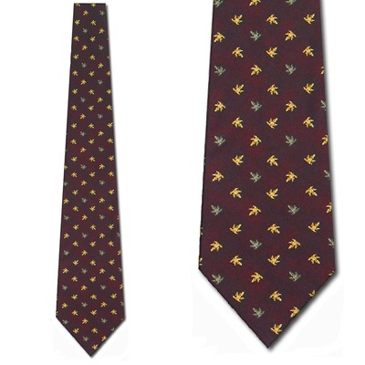 Autumn Leaves Necktie Mens Tie by Tieguys