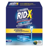 RID-X Professional Septic Treatment, 4 Month Supply of Powder, 39.2oz