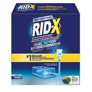 RID-X Professional Septic Treatment, 4 Month Supply of Powder, 39.2oz