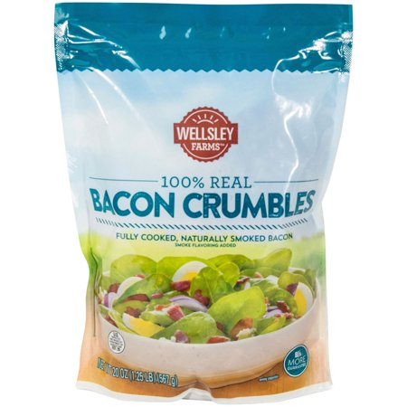 Product of Wellsley Farms 100% Real Bacon Crumbles, 20 oz. [Biz (Crumble Topping)