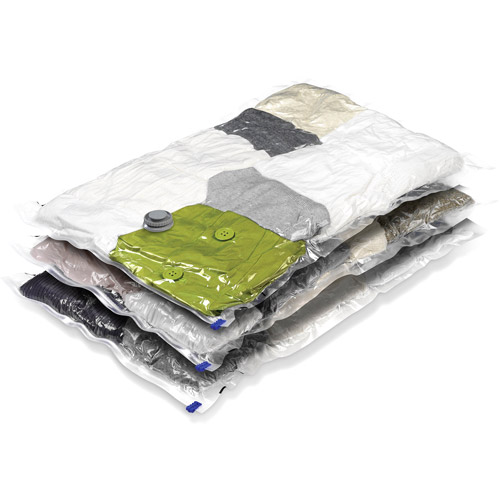 Honey Can Do Large Vacuum Storage Bags, Clear (Pack of 3)