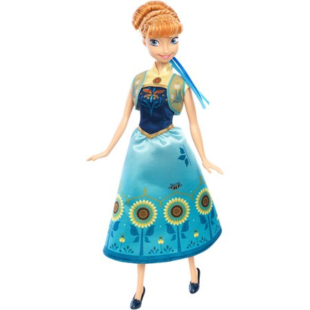 Disney Frozen Fever Anna Doll - Queen Elsa Frozen Fever