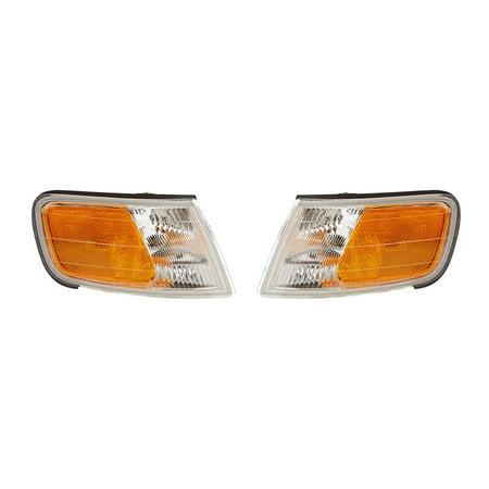 NEW PAIR OF SIDE MARKER LIGHTS FITS HONDA ACCORD 1994-97 HO2550109 34300-SV4-A02 34350SV4A02 34300SV4A02 HO2551109 (Honda Accord Side Marker)