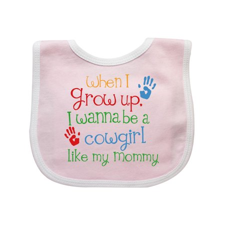 Cowgirl Like Mommy Baby Bib for $<!---->