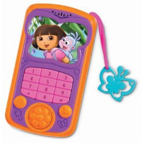 Fisher-Price Dora Talk and Explore Cell Phone