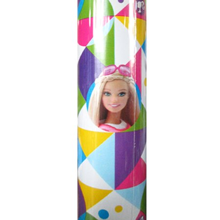 Barbie 'Sparkle' Roll of Gift Wrap (20sq. ft) - Barbie Wrapping Paper