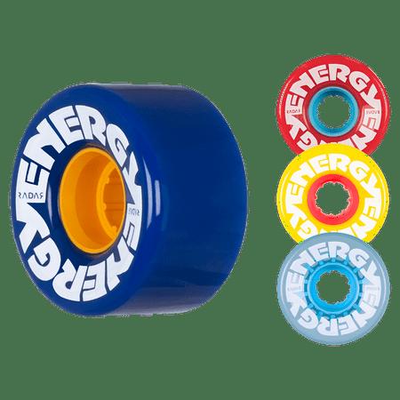 - Riedell Skates Radar Energy 57mm Outdoor Skate Wheels (Set of 4)