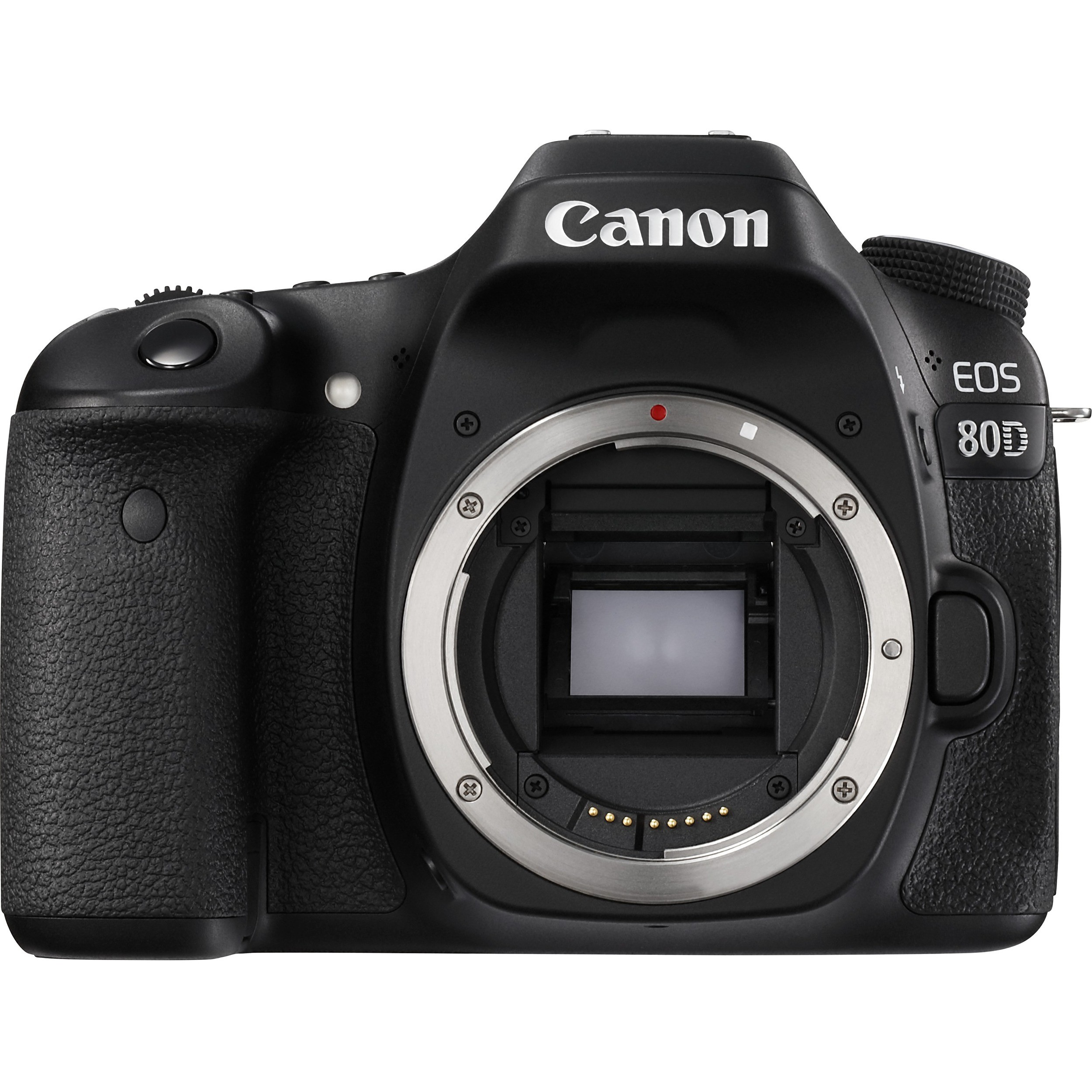 "Canon EOS 80D 24.2 Megapixel Digital SLR Camera Body Only - Black - 3"" Touchscreen LCD - 16:9 - E-TTL II - 6000 x 4000 Image - 1920 x 1080 Video - HDMI - PictBridge - HD Movie Mode - Wireless LAN"