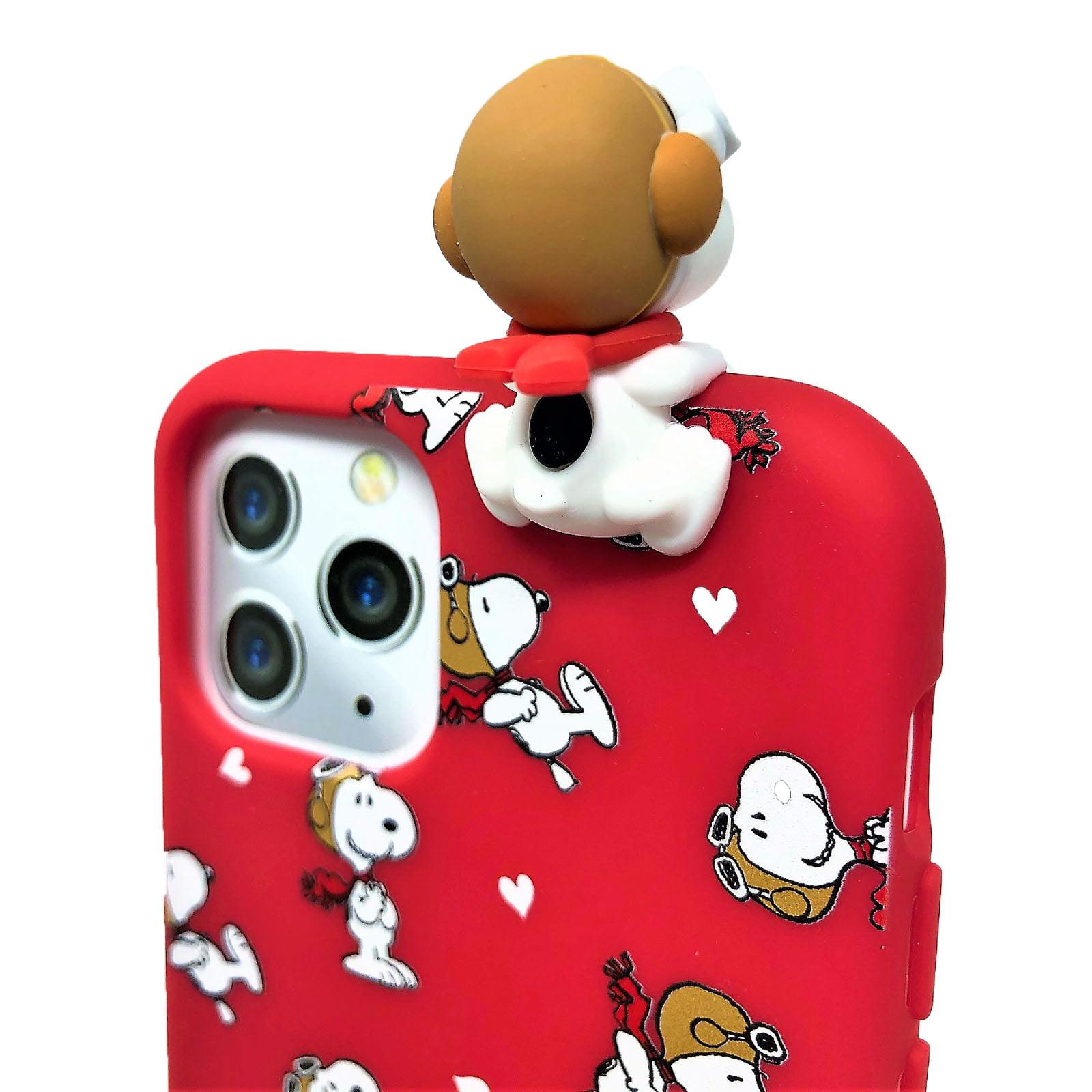 "Peanuts 3"" Farmer Snoopy With Wheelbarrow Rubber Toy"