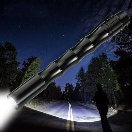Tactical Mini Pen Pocket XP-E R2 LED 1000LM Flashlight Torch (Led Pin Lights)