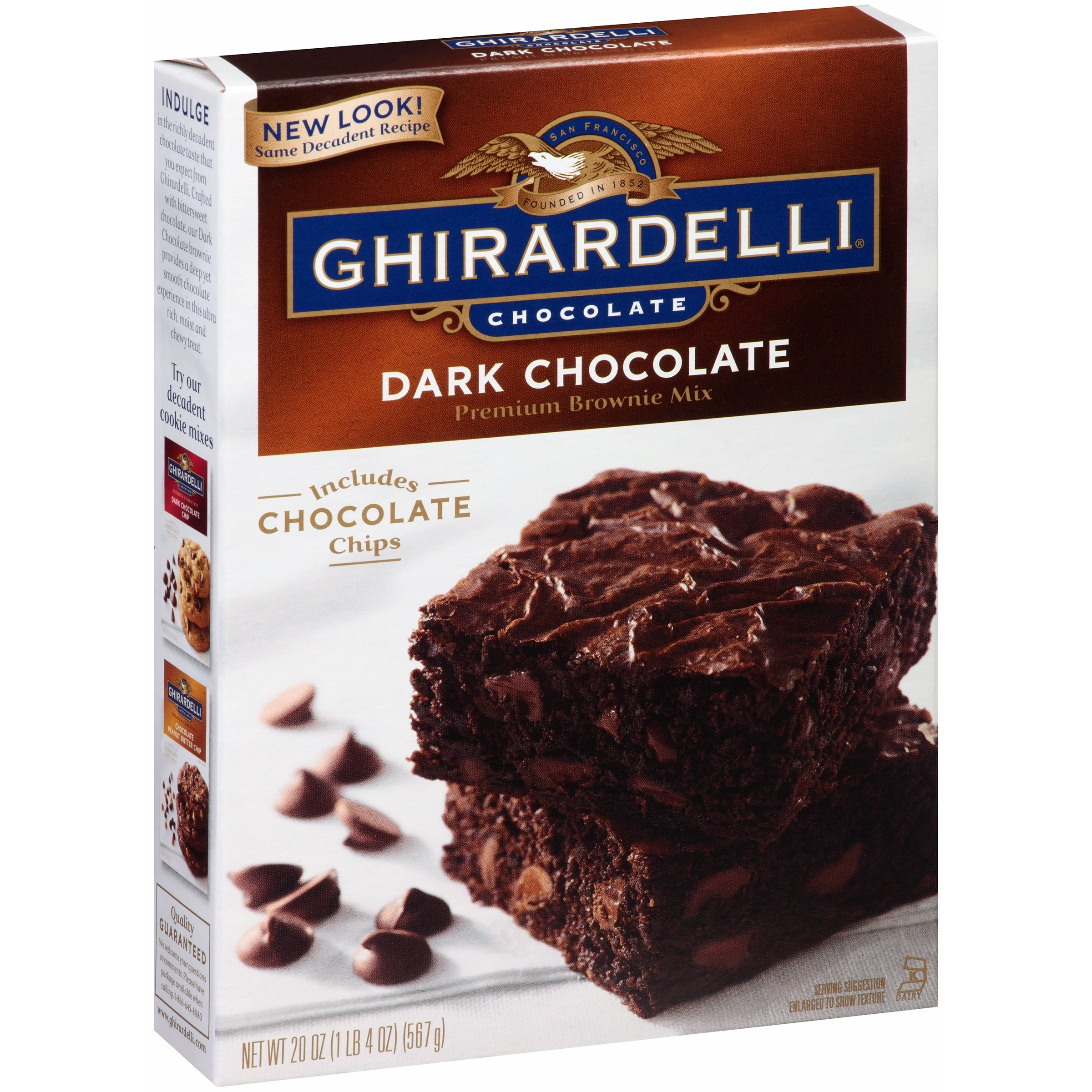 Ghirardelli® Dark Chocolate Brownie Mix 20 oz. Box