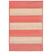 Liora Manne Terrace 1789/27 Rugby Coral Area Rug 23 Inches X 35 Inches