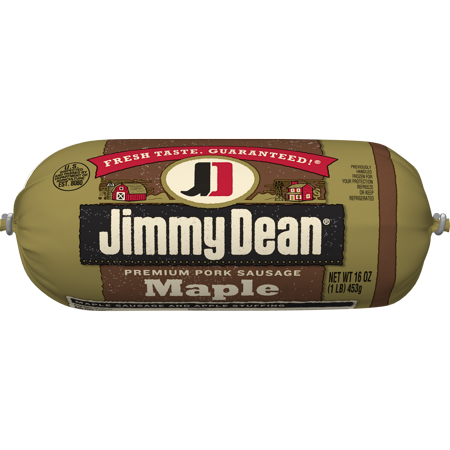 Jimmy Dean Premium Pork Maple Sausage Roll, 16 Oz ...