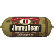 Jimmy Dean® Premium Pork Maple Sausage Roll, 16 oz.