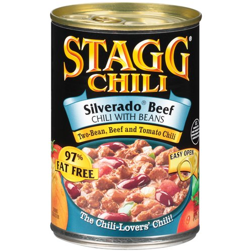 Stagg Chili Silverado Beef Chili with Beans, 15 oz