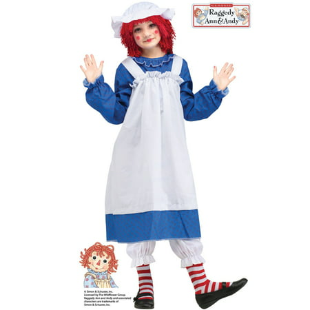 Raggedy Ann Child Costume](Raggedy Ann Toddler Halloween Costume)