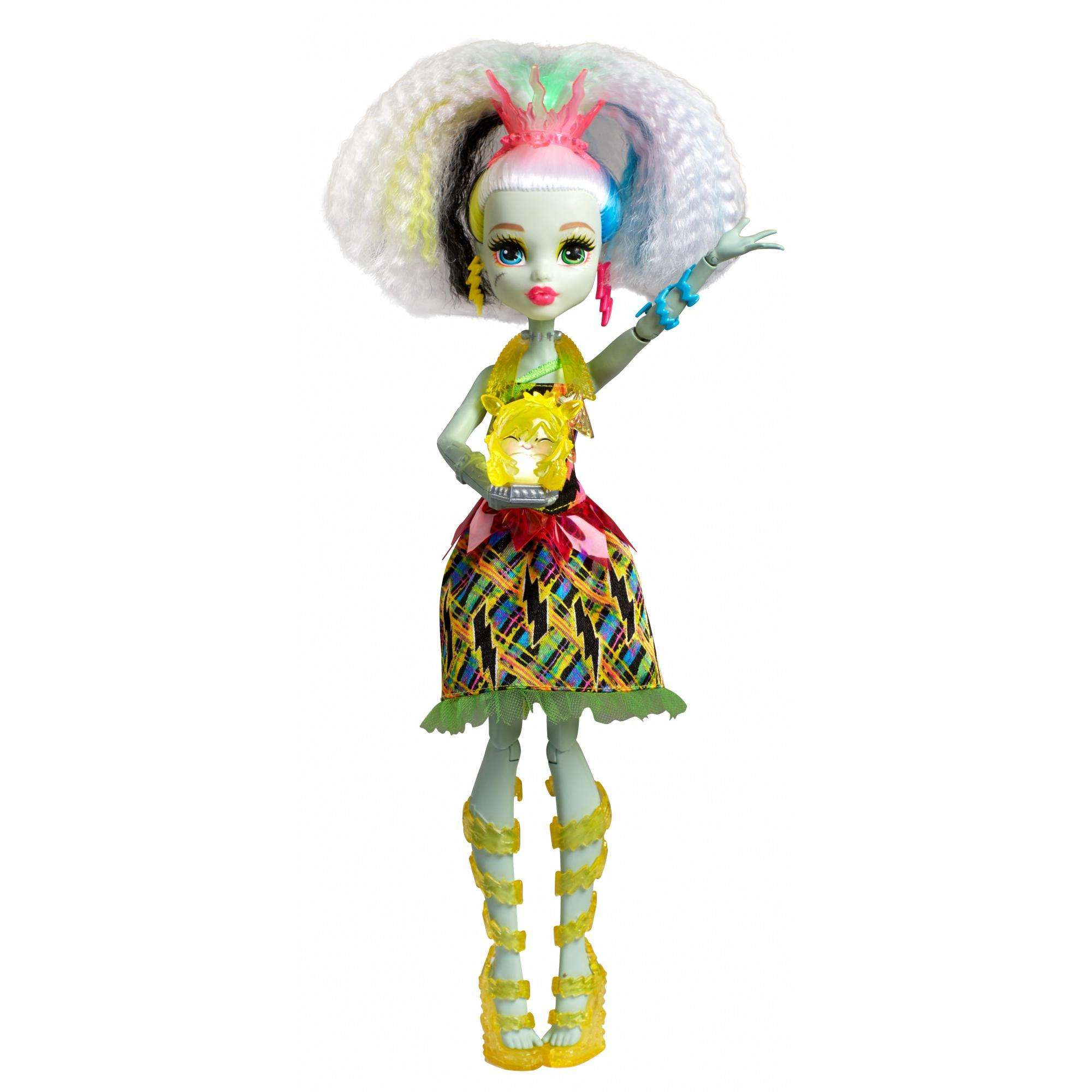 Monster High Electrified High Voltage Frankie Stein Doll by Monster High