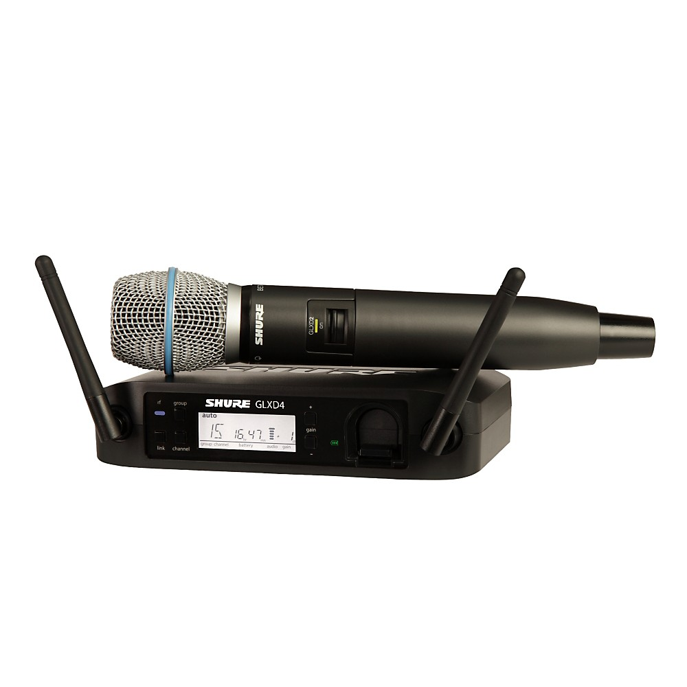 Shure GLX-D Wireless Vocal System with Beta 87A Mic Z2 by Shure
