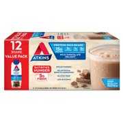 Atkins Gluten Free Protein-Rich Shake, Milk Chocolate Delight, Keto Friendly, 11.0 oz., 12 Count