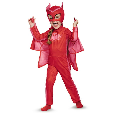 PJ Masks Owlette Classic Costume for Toddler - Peacock Toddler Costume