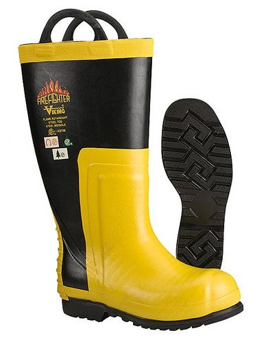 Firefighter Chain Saw Boots,7M,PR Economical, stylish, and eye-catching shoes