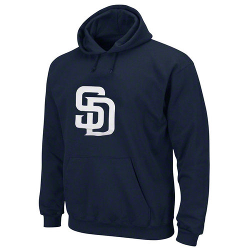 MLB - San Diego Padres Navy Tek Patch Hooded Sweatshirt