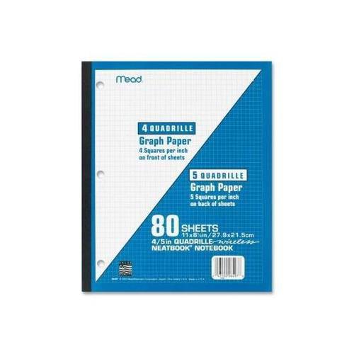 Mead 1-Subject Wireless Neatbook MEA06497