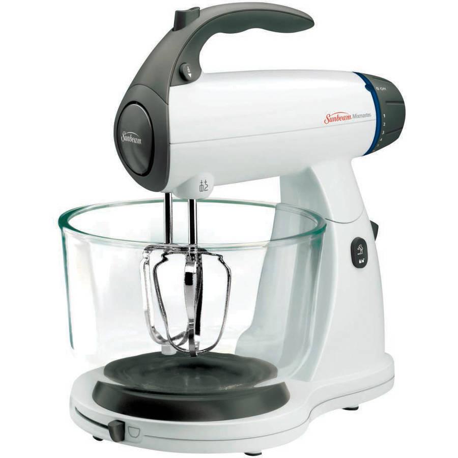 Sunbeam Mixmaster 12-Speed Stand Mixer, White (FPSBSMGLW) - Walmart.com