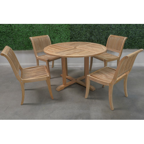HiTeak Furniture 5 Piece Dining Set
